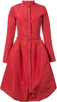Oscar de la Renta belted puffer dress