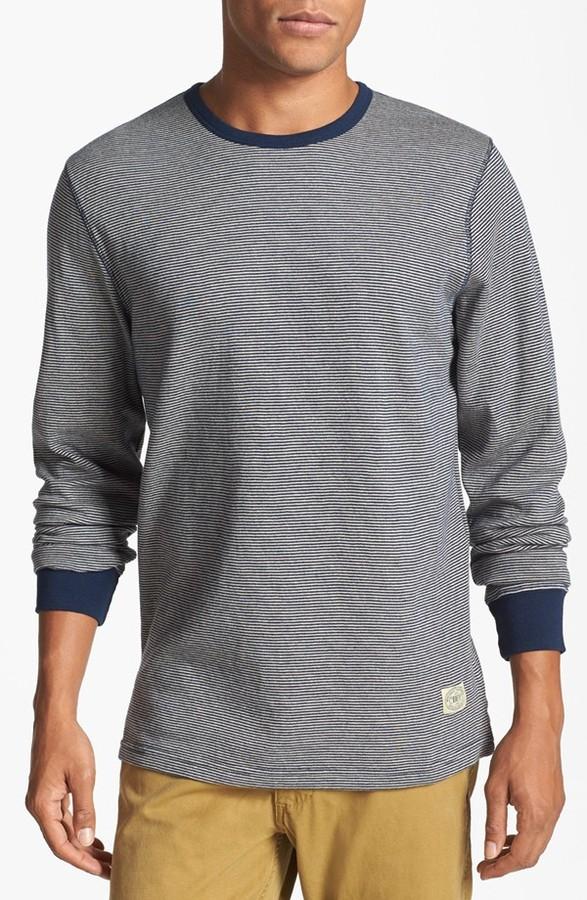 Obey 'Longshore' Stripe Long Sleeve T-Shirt