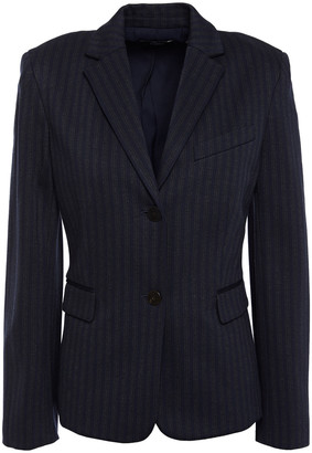 Theory Striped Knitted Blazer