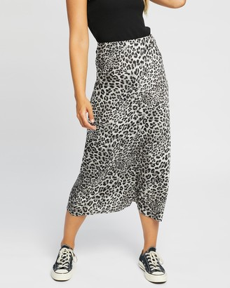 Jorge - Women's Grey Midi Skirts - Viva Midi Skirt - Size One Size, 10 at The Iconic