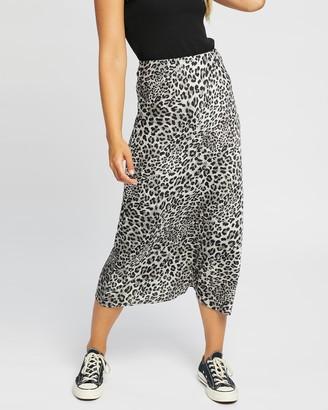 Jorge - Women's Grey Midi Skirts - Viva Midi Skirt - Size One Size, 12 at The Iconic
