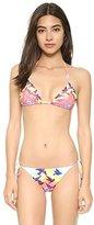 Mara Hoffman Women's Prismatic Triangle Bikini Top