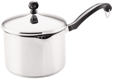 Farberware 3QT. Classic Stainless Steel Covered Straining Saucepan