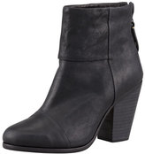 Rag & Bone Newbury Leather Ankle Boot, Black