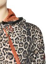 Moncler Gamme Rouge Animal Printed Nylon Coat