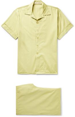 Cleverly Laundry - Cotton Pyjama Set - Men - Green