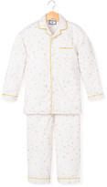 Petite Plume Gilded Celebration Two-Piece Pajama Set, Size 6M-14