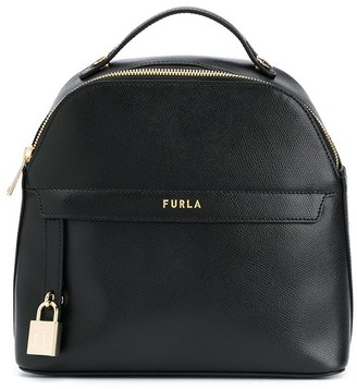 Furla Piper logo backpack