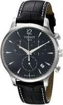 Tissot Men's T0636171605700 Classic Analog Dial Watch