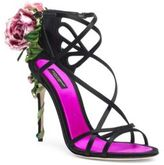Dolce & Gabbana Rose Strappy Sandals