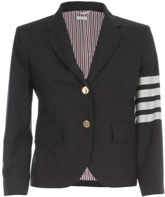 Thom Browne Classic Sb S/c In Engineered 4 Bar Plain Weave Suiting