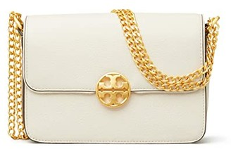 Tory Burch Chelsea Mini Crossbody (New Ivory) Handbags