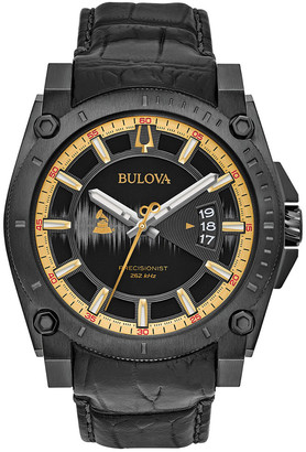 Bulova Women's Leather Watch