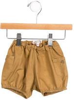 Bonpoint Girls' Cargo Mini Shorts