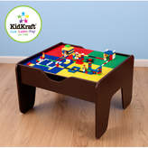 Kid Kraft 231 Piece Activity 2-in-1 Kids Lego and Train Table Set