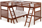 Bolton Furniture Aurora Twin Over Full Bunk Bed w/ Tri-Bunk Extension & Storage Drawers