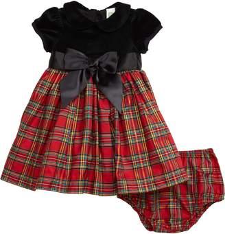 Little Me Plaid Party Dress