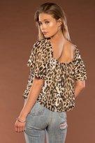 Merritt Charles Harlow Blouse   Leopard Small / Leopard