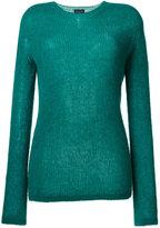 Roberto Collina ribbed sweater - women - Nylon/Spandex/Elastane/Mohair/Alpaca - M