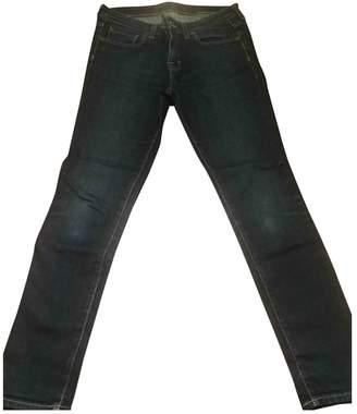 Edwin Blue Cotton Jeans for Women