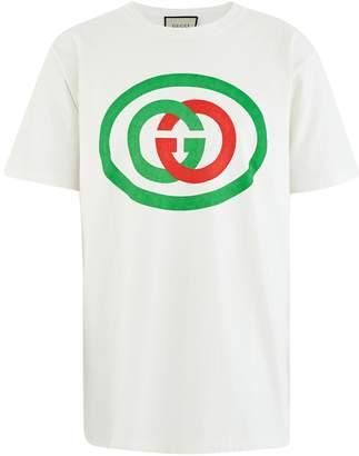 Gucci Oversized GG logo t-shirt