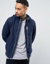Diesel L-FLO Suede Hooded Jacket