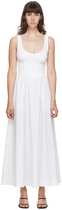 Esse Studios SSENSE Exclusive White and Off-White Tank Maxi Dress