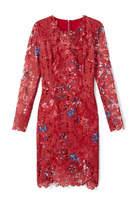 Elie Tahari Starla Dress In Printed Lace