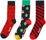 Happy Socks Gift Box 3 Pack Singing Christmas Gift