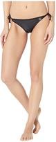 Body Glove Smoothies Tie Side Bikini Bottoms (Black) Women's Swimwear