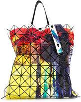 Bao Bao Issey Miyake brushed print flat tote - women - Polyester - One Size