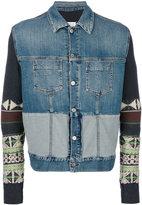 Maison Margiela Navajo sleeve denim jacket - men - Cotton/Spandex/Elastane - 50