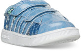 K-Swiss Toddler Girls' Hoke Velcro Casual Sneakers from Finish Line