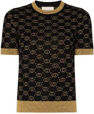 Gucci GG knit short-sleeve jumper