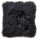 Jonathan Adler Mongolian Lamb Hair Throw Pillow