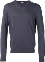 Malo v-neck sweatshirt - men - Cotton - 50
