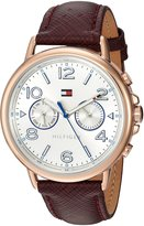 Tommy Hilfiger Women's 1781734 CASEY Analog Display Quartz Red Watch