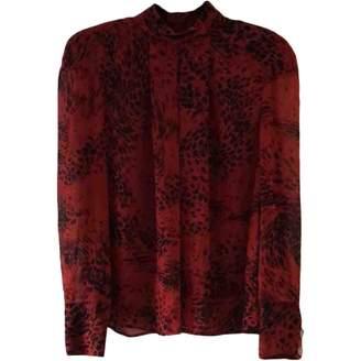 Pierre Balmain \N Red Silk Top for Women