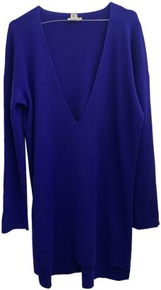 Hermes Blue Cashmere Knitwear
