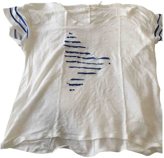MiH Jeans White Linen Top for Women
