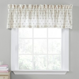 Laura Ashley Harper Green Window Valance Bedding