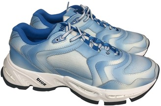 Christian Dior B22 Blue Polyester Trainers