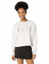 RVCA Women's Stilt Crew Neck Fleece Sweatshirt