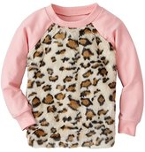 Girls Kit Cat Furry Sweatshirt