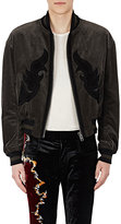 Haider Ackermann Men's Embellished Cotton-Blend Corduroy Bomber Jacket