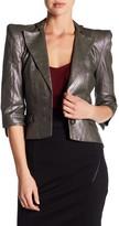 Maac London 3/4 Sleeve Asymmetrical Jacket