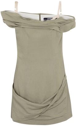 Jacquemus La Robe Foglio linen-blend minidress