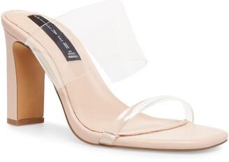 STEVEN NEW YORK Jule Transparent Strap Sandal