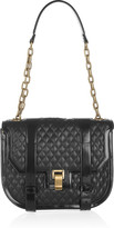 Proenza Schouler The PS1 Mini Messenger quilted leather shoulder bag