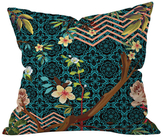 DENY Designs Juliana Curi Black Spring Throw Pillow